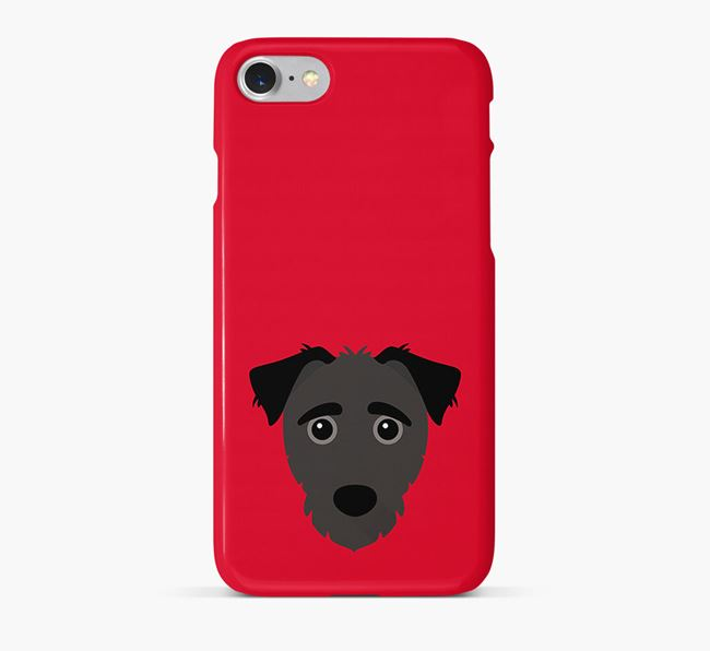 Phone Case with Jack-a-Poo Icon