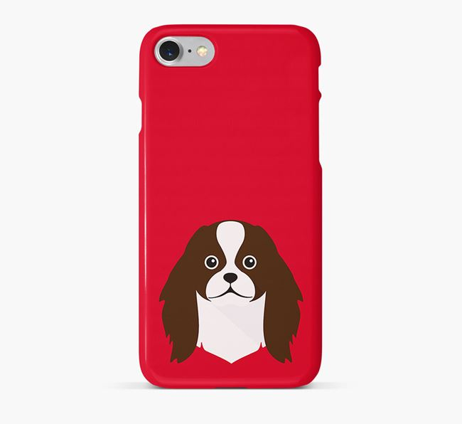 Phone Case with Japanese Chin Icon