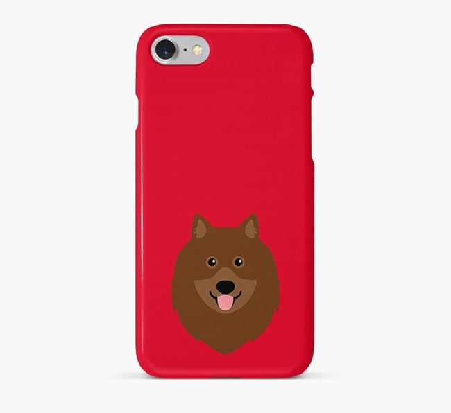 Phone Case with Keeshond Icon