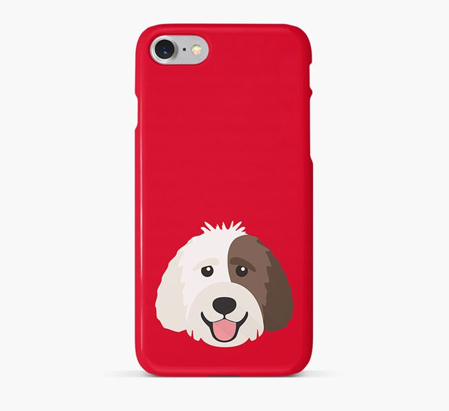 Phone Case with Labradoodle Icon