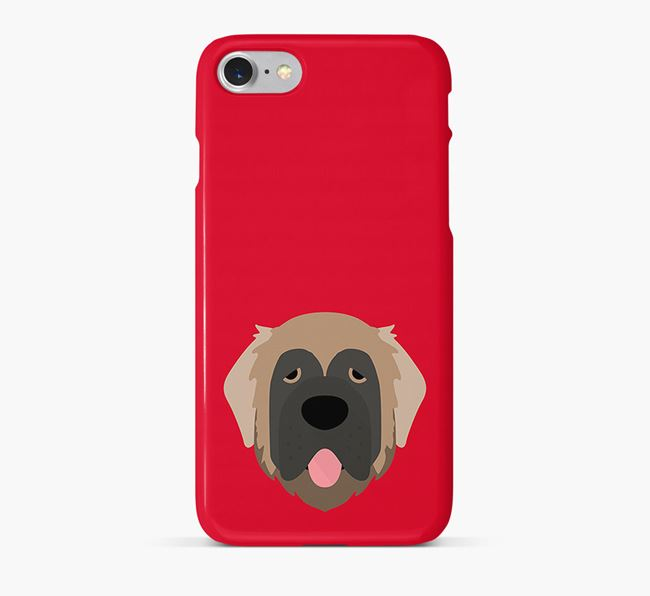 Phone Case with Leonberger Icon