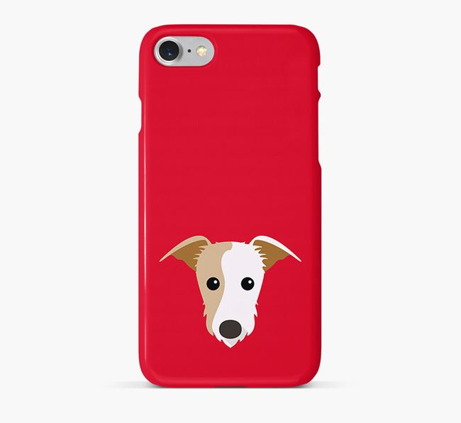 Phone Case with Lurcher Icon