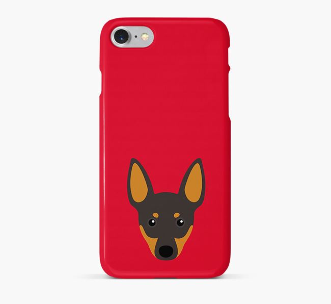 Phone Case with Manchester Terrier Icon