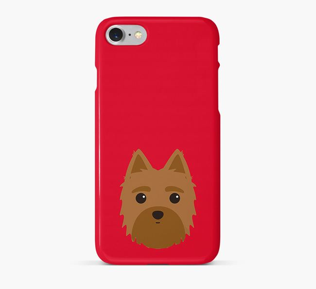 Phone Case with Morkie Icon