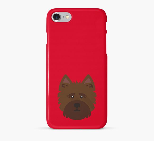 Phone Case with Norfolk Terrier Icon