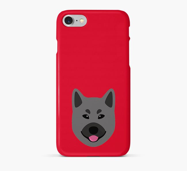 Phone Case with Elkhound Icon