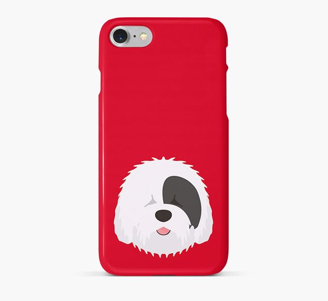 Phone Case with Sheepdog Icon