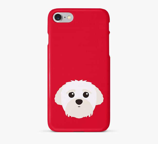 Phone Case with Peek-a-poo Icon