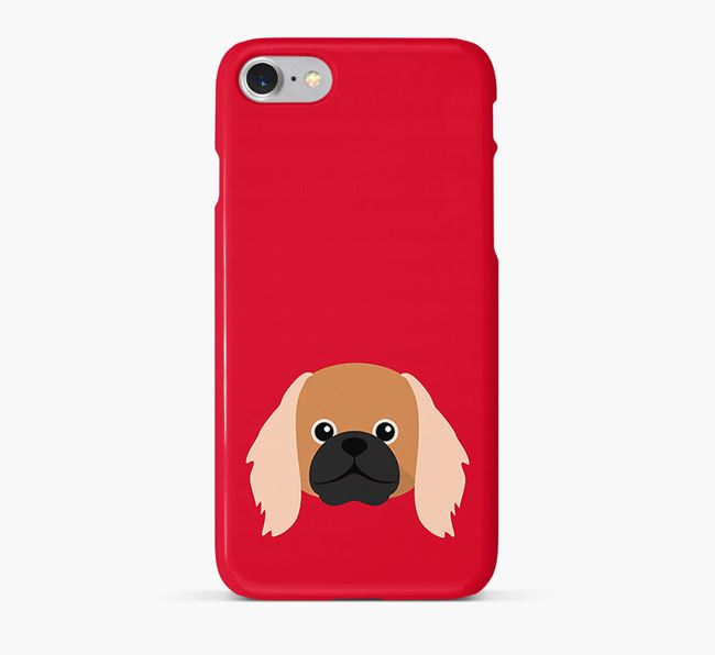 Phone Case with Pekingese Icon