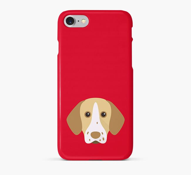 Phone Case with Pointer Icon