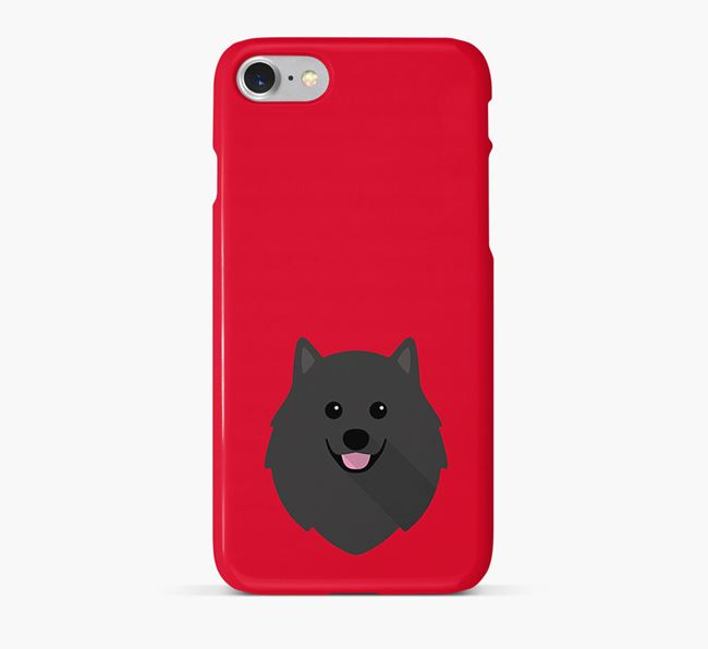 Phone Case with Pomeranian Icon