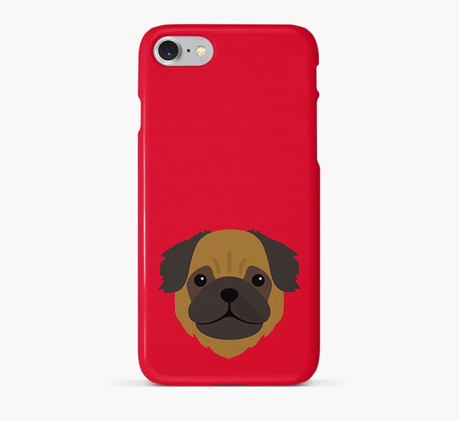 Phone Case with Pug Icon