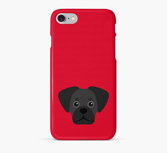 Phone Case with Pugalier Icon