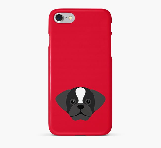 Phone Case with Puggle Icon
