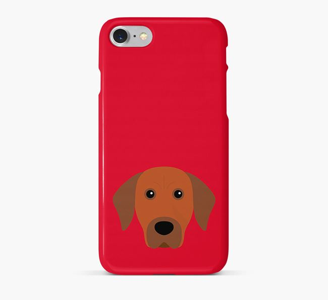 Phone Case with Rhodesian Ridgeback Icon