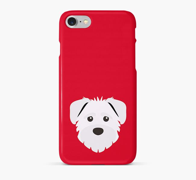 Phone Case with Schnoodle Icon