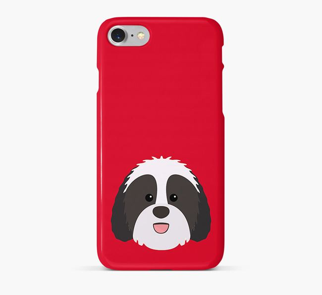 Phone Case with Sheepadoodle Icon