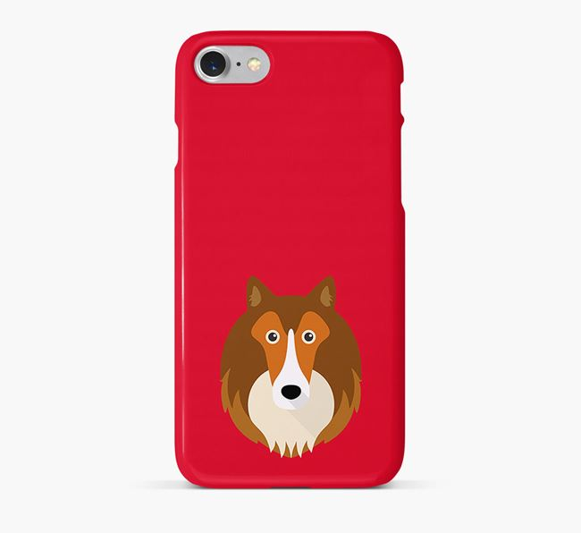 Phone Case with Sheltie Icon