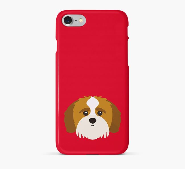 Phone Case with Shih-poo Icon