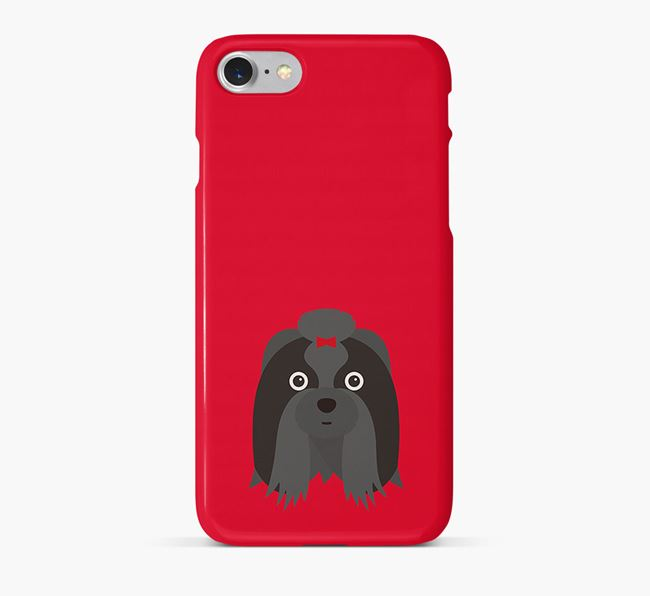 Phone Case with Shih Tzu Icon