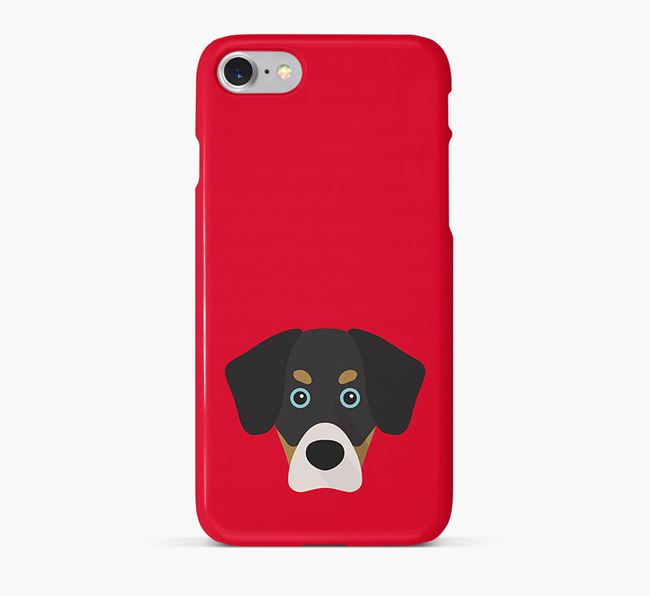 Phone Case with Siberian Cocker Icon