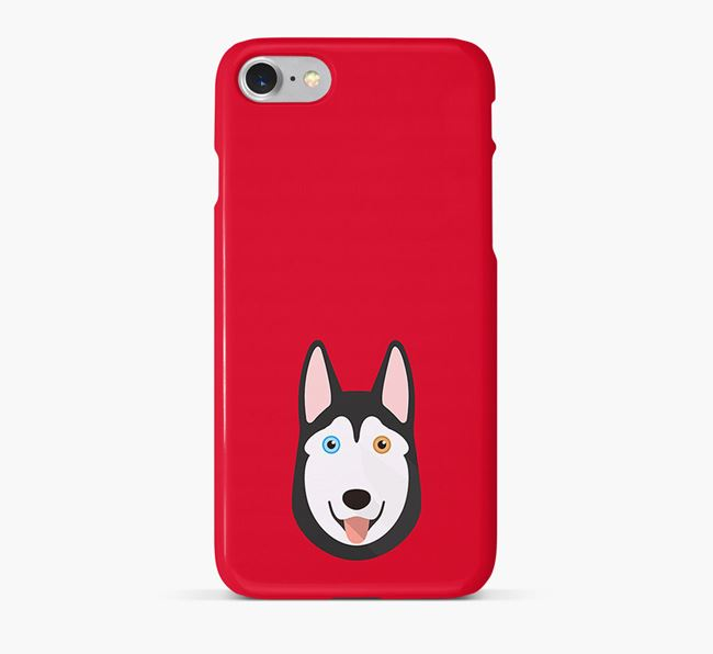 Phone Case with Husky Icon