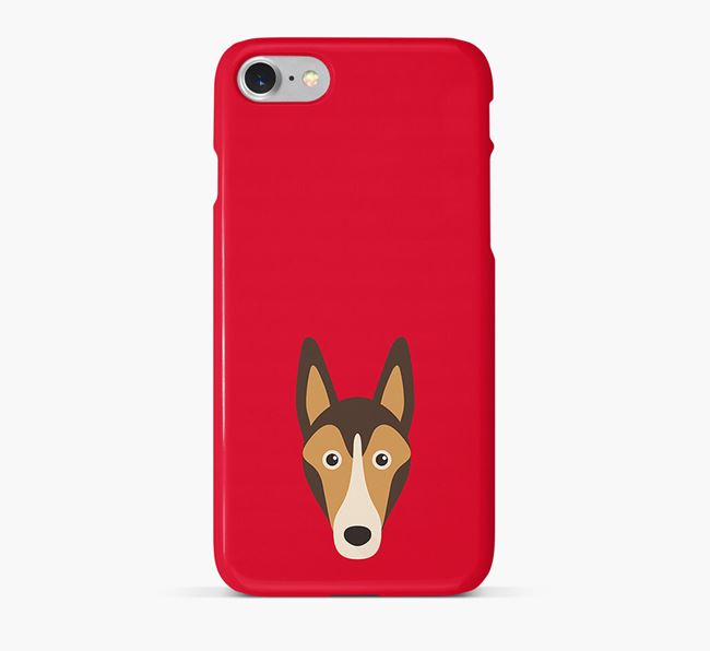 Phone Case with Collie Icon