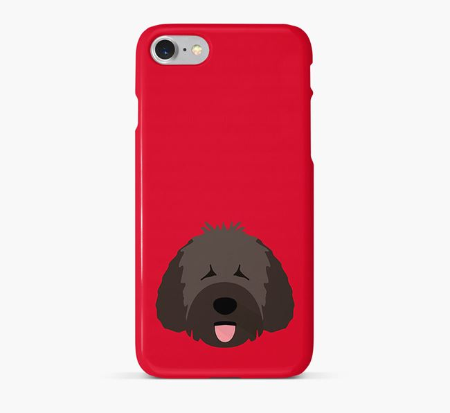 Phone Case with Spanish Water Dog Icon