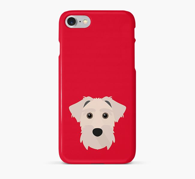 Phone Case with Lucas Terrier Icon