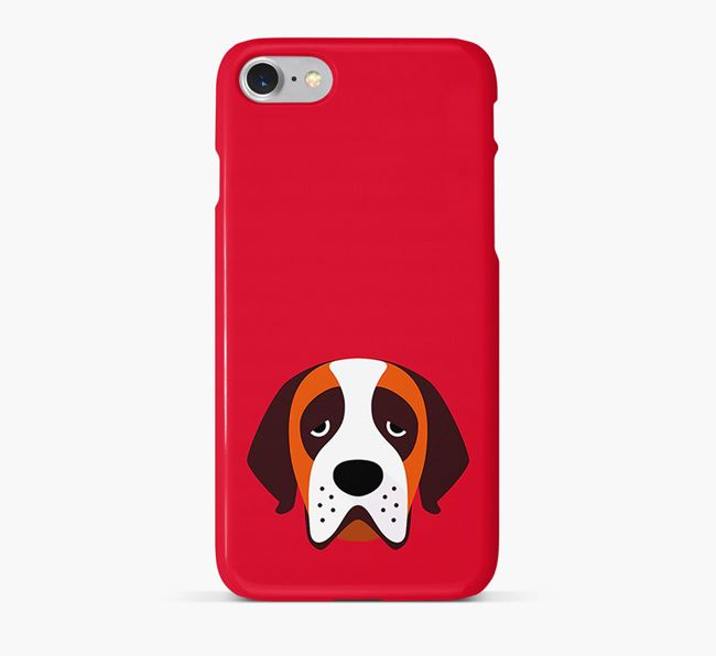 Phone Case with St. Bernard Icon