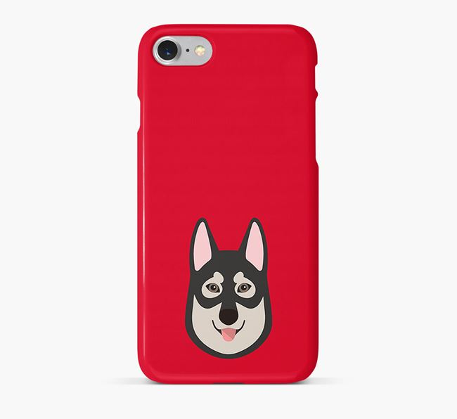 Phone Case with Tamaskan Icon