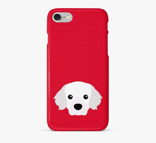 Phone Case with Tibetan Spaniel Icon