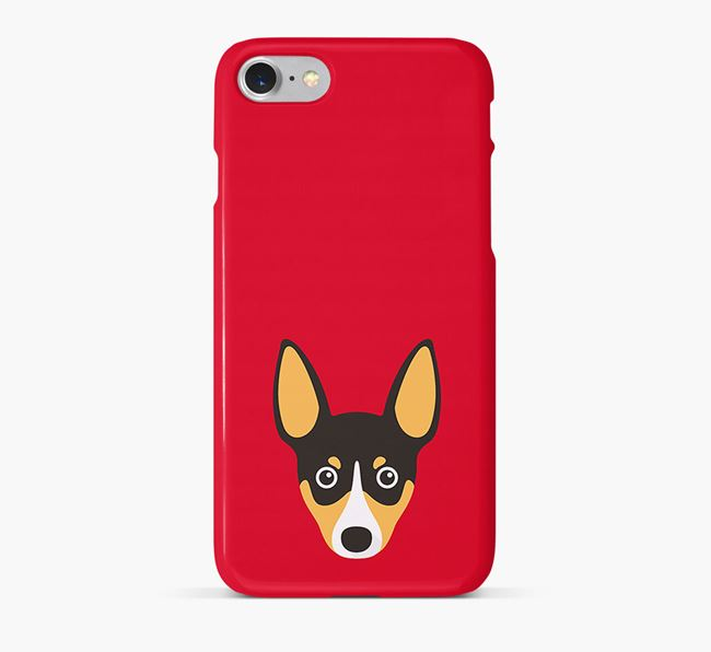 Phone Case with Toy Fox Terrier Icon