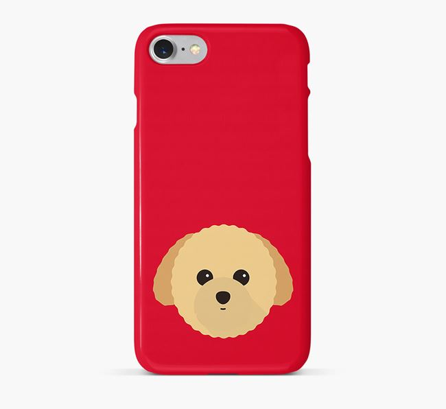 Phone Case with Toy Poodle Icon