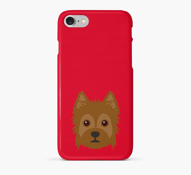 Phone Case with Yorkie Russell Icon