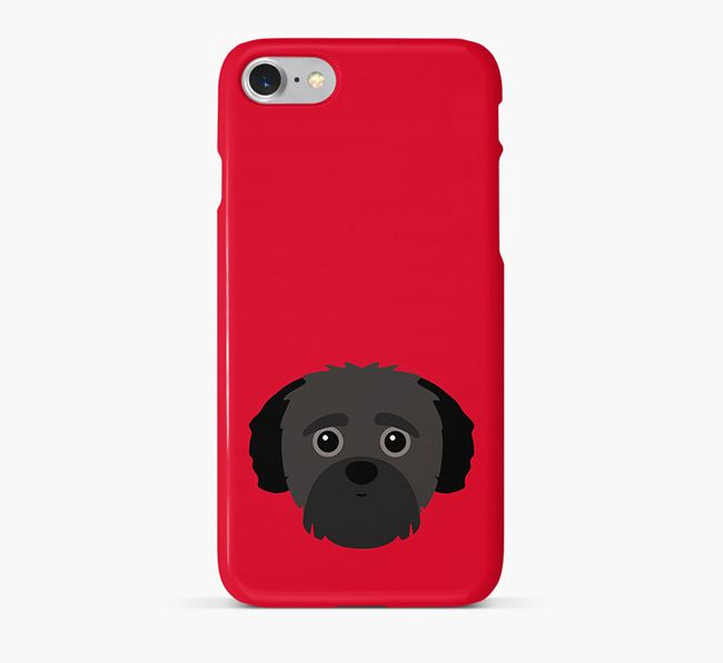 Phone Case with Yorkipoo Icon