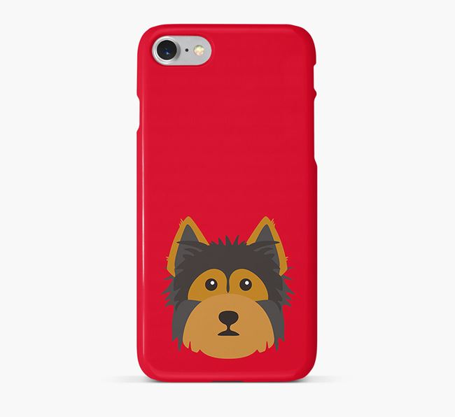 Phone Case with Yorkshire Terrier Icon
