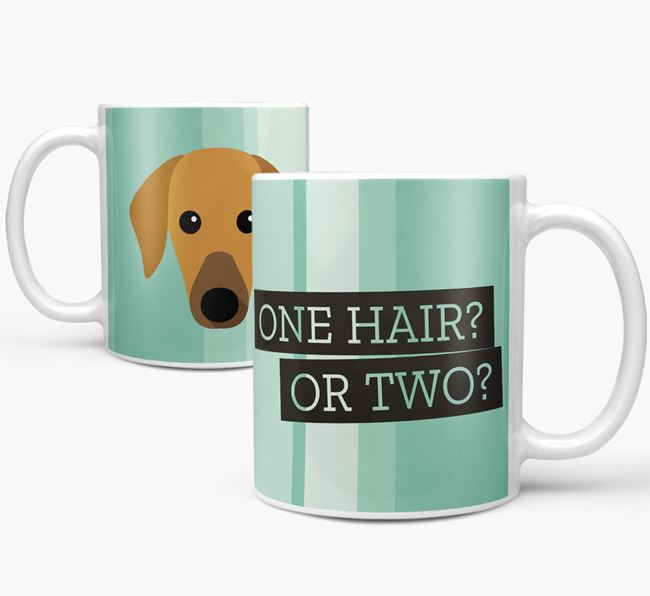 Azawakh 'One Hair? Or Two?' Mug