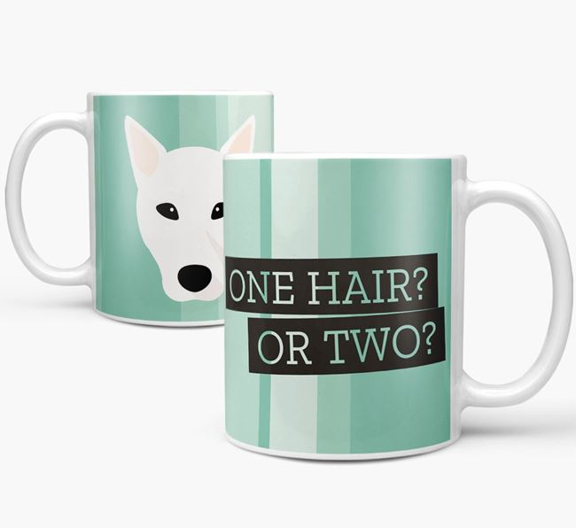 Canaan Dog 'One Hair? Or Two?' Mug