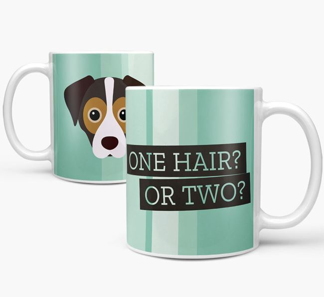 Cheagle 'One Hair? Or Two?' Mug