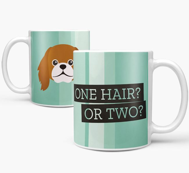 Pekingese 'One Hair? Or Two?' Mug