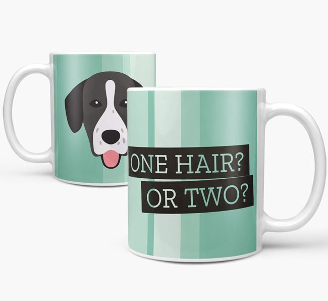 Springador 'One Hair? Or Two?' Mug