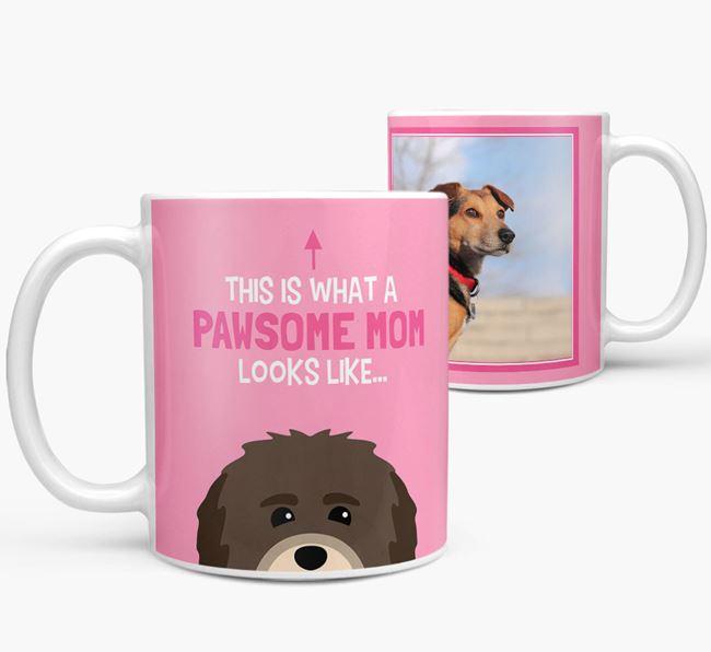 'Pawsome Mom' - Personalized Havanese Mug