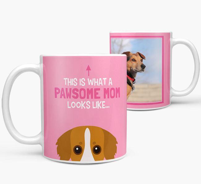 'Pawsome Mom' - Personalized Kokoni Mug