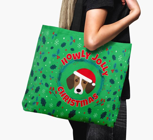 'Howly Jolly' - Personalised Trailhound Canvas Bag