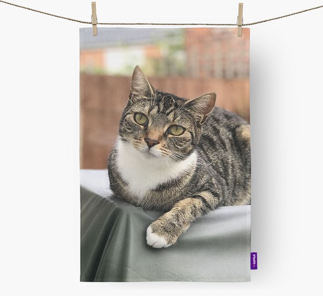 Photo Upload Dish Towel - Personalized for your Ashera