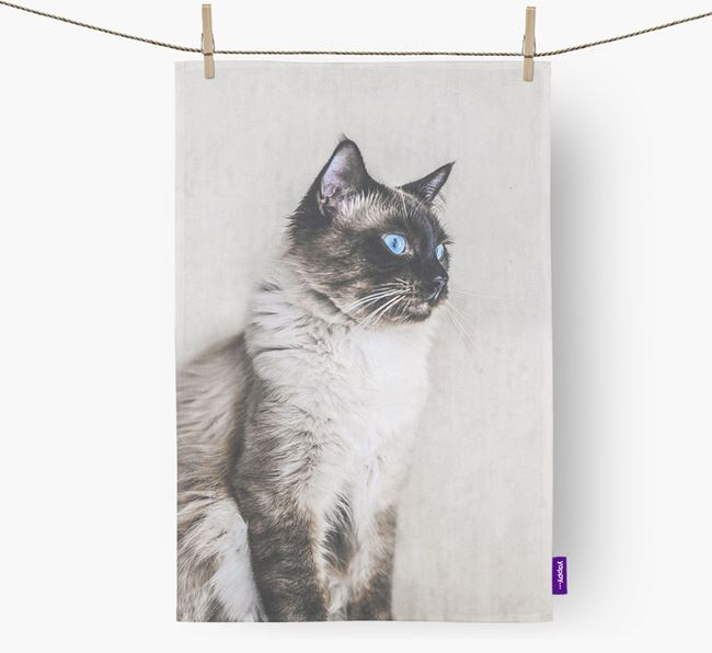 Photo Upload Dish Towel - Personalized for your Balinese