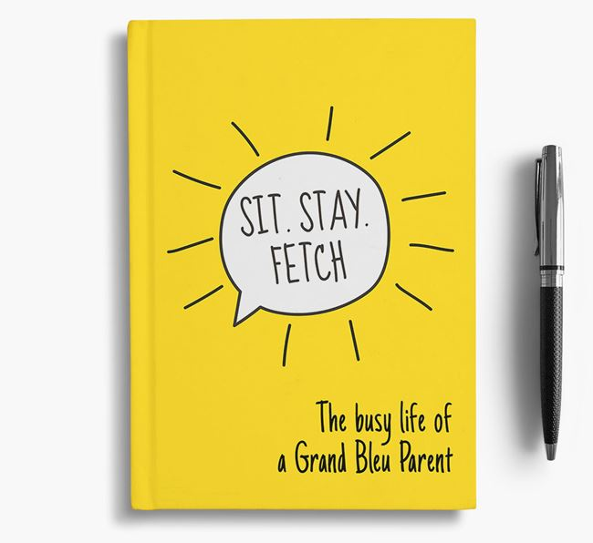 'The busy life of a Grand Bleu Parent' Personalised Notebook