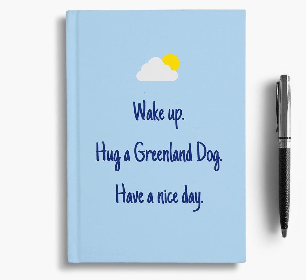 Notebook for Greenland Dogs
