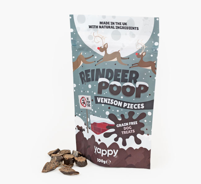 Reindeer Poop Dog Treats for your German Shorthaired Pointer